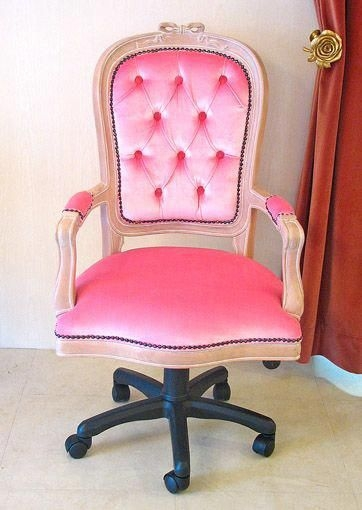 Pink swivel chairs 1