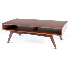 Profile Two Walnut Coffee Table