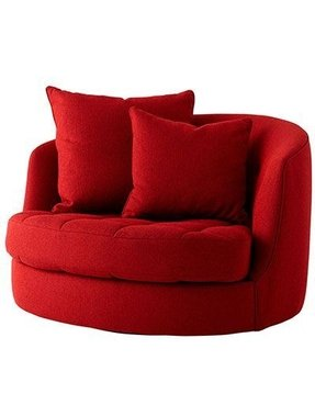Pleasant Red Swivel Chairs Ideas On Foter Interior Design Ideas Clesiryabchikinfo