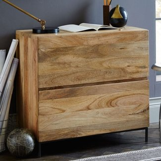 Rustic storage modular lateral file