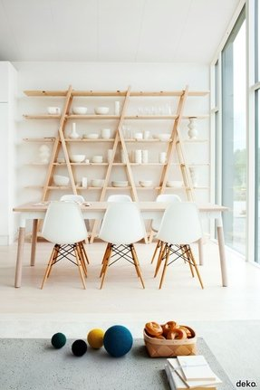Scandinavian bookcases 24