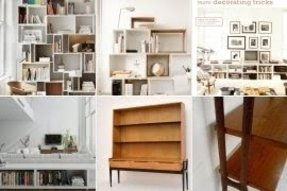 Scandinavian bookcases