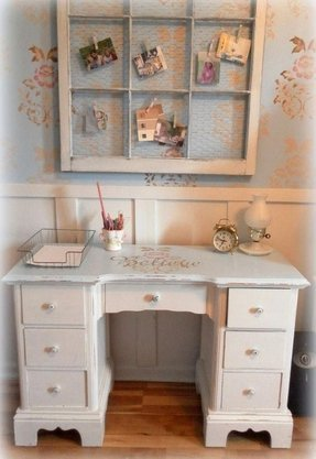 Shabby chic home office furniture