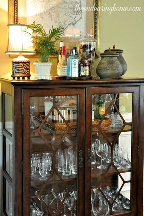 Wine Glass Display Case Foter