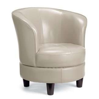 Awe Inspiring Small Leather Swivel Chairs Ideas On Foter Onthecornerstone Fun Painted Chair Ideas Images Onthecornerstoneorg