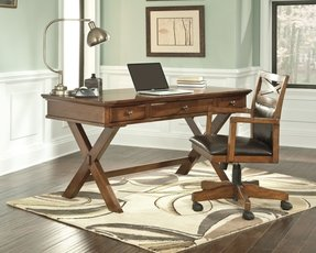 Solid wood computer desks for home