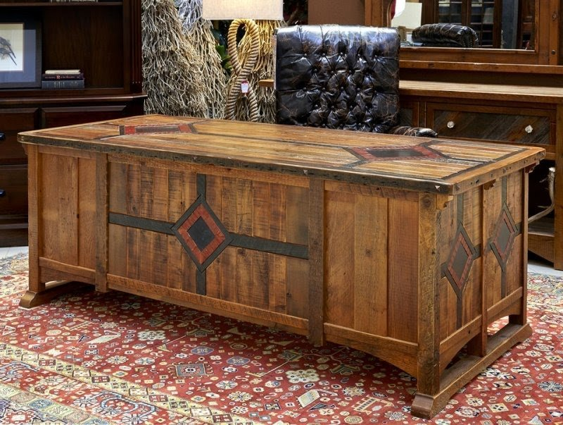 Solid Wood Home Office Desks   Foter