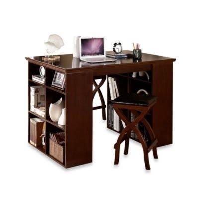 Solid Wood Home Office Desks 31