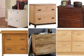 Solid Wood Lateral File Cabinets