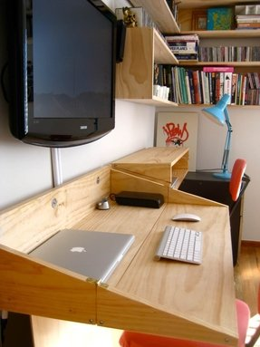 Space Saving Home Office Desks Ideas On Foter