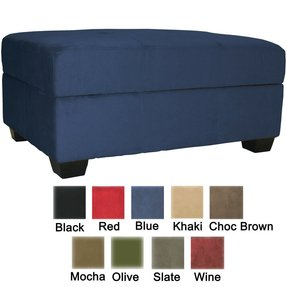 "Vanderbilt, Contemporary Furniture, Tufted Padded Hinged 36"" X 24"" Storage Ottoman Bench"
