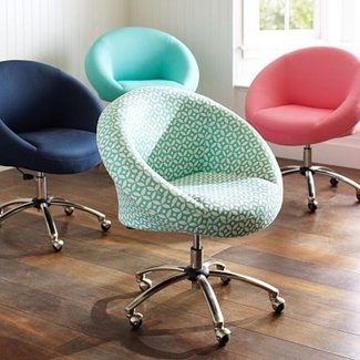 Vanity swivel chair