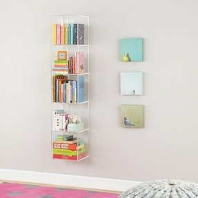 Wall bookshelves for nursery