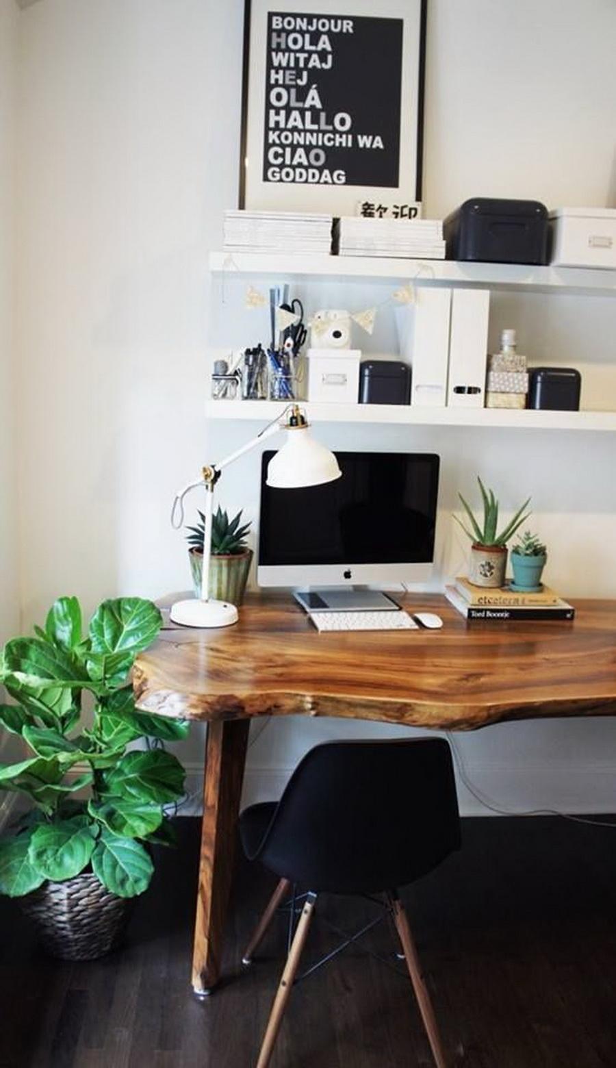 Beau Walnut Desks For Home Office