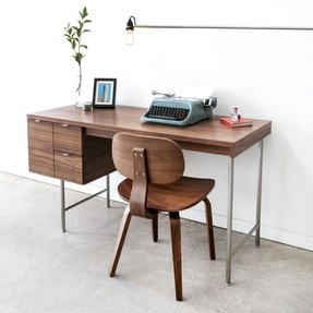 Walnut Home Office Desks 1