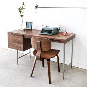 office desk walnut. Walnut Home Office Desks 1 Desk