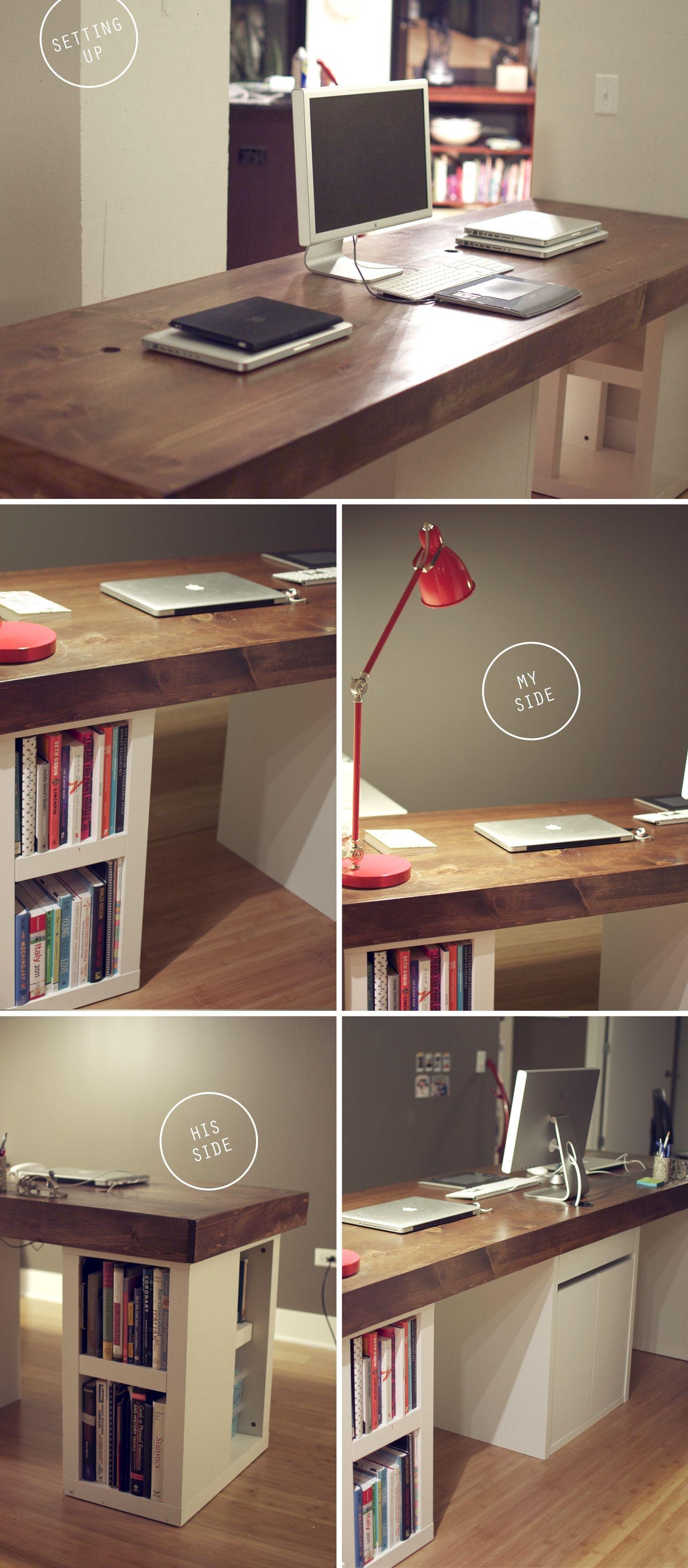 Walnut Home Office Desks 2