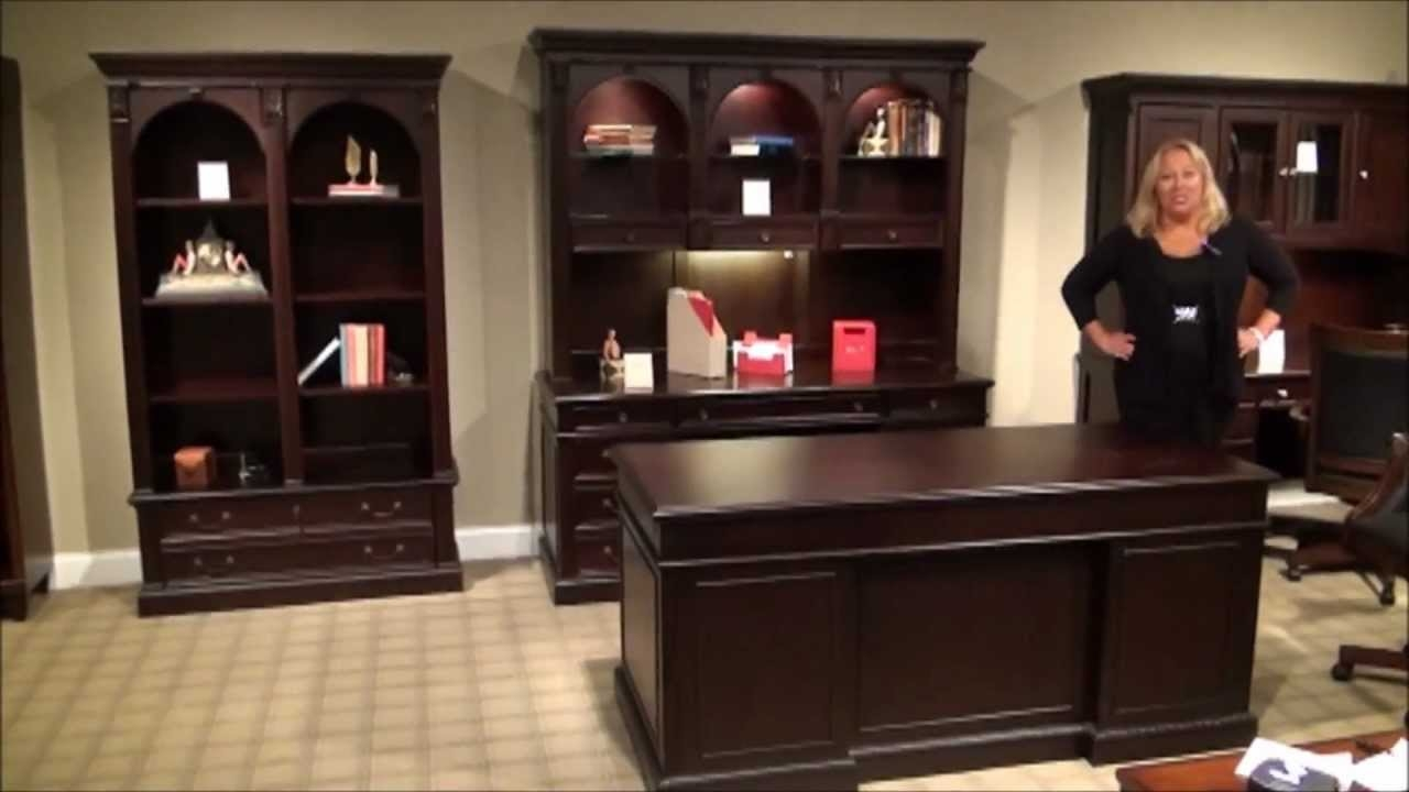 Lovely Wellington Executive Home Office Desk Set By Wynwood Furniture
