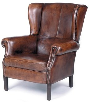 Antique Leather Armchairs Ideas On Foter