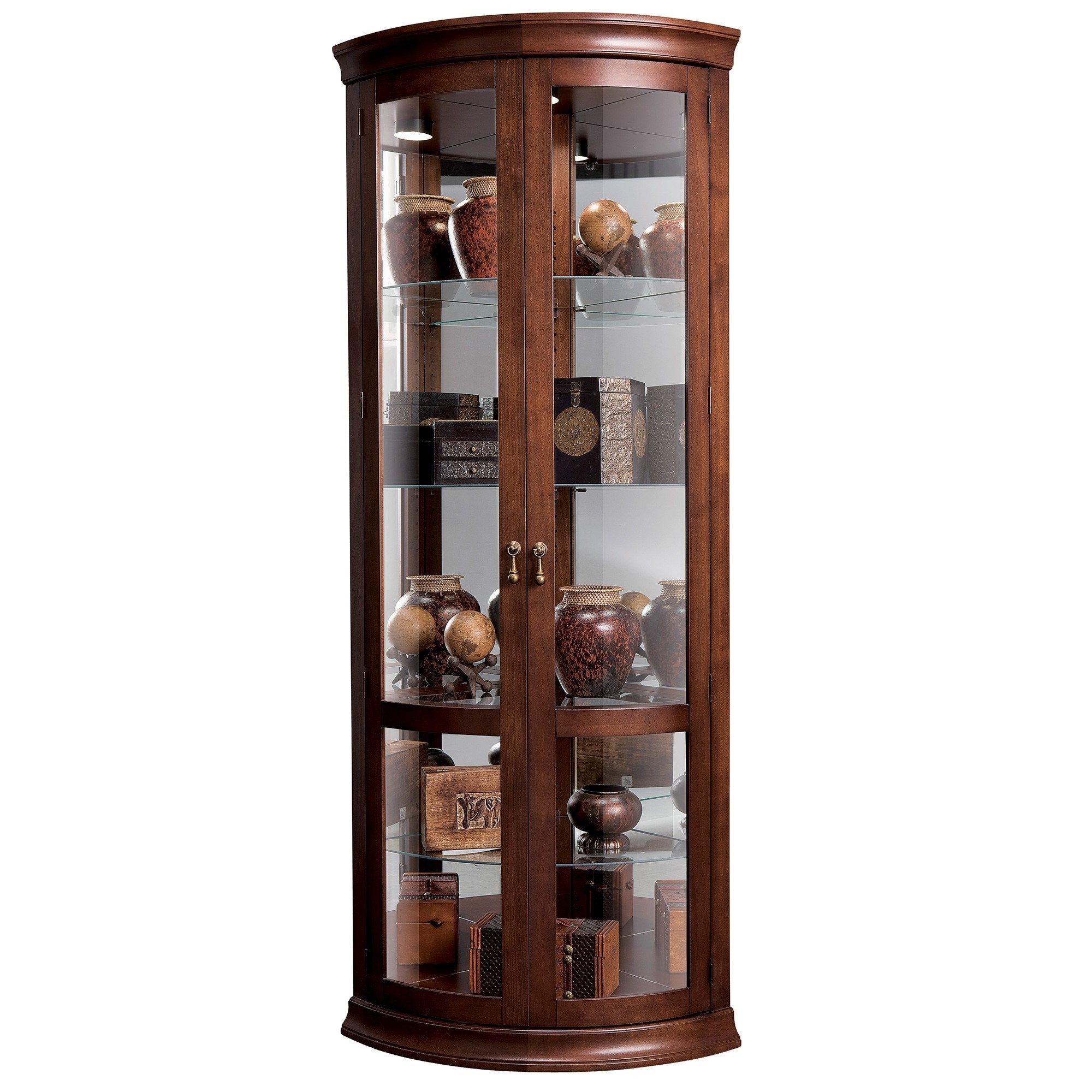 Merveilleux Vintage Curio Cabinets   Ideas On Foter