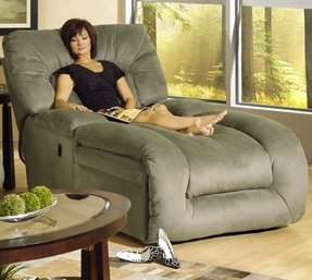 Chaise lounge microfiber