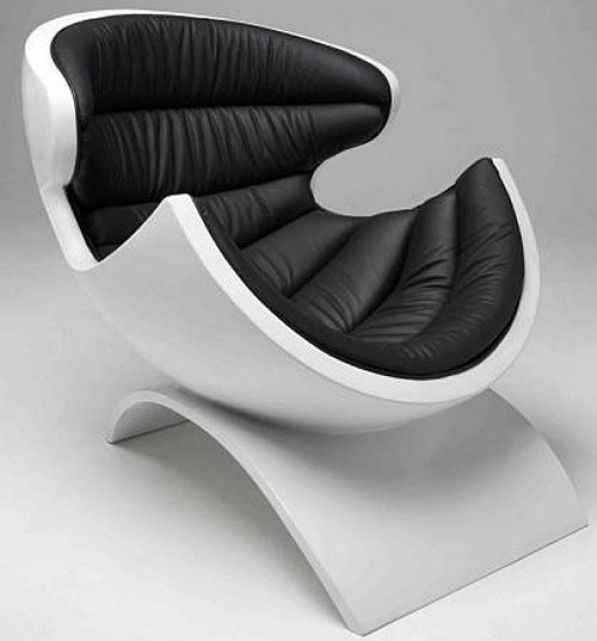 Contemporary Leather Recliners With Ottoman