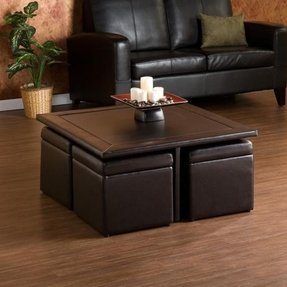 Coffee Table With Seating Cubes Ideas On Foter