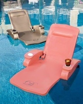 Foam pool lounger