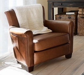 Irving professor leather armchair 2