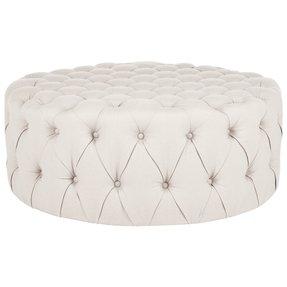 Outstanding Large Round Ottomans Ideas On Foter Inzonedesignstudio Interior Chair Design Inzonedesignstudiocom