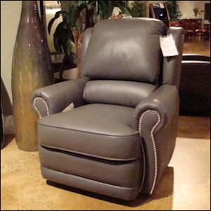 Elegant Leather Swivel Recliners 2