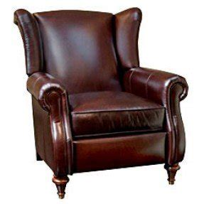 Leather Wingback Recliner 3