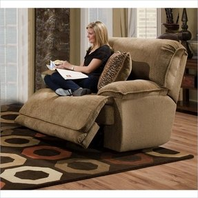 Love this ginormous recliner perfect for cuddling up and watching
