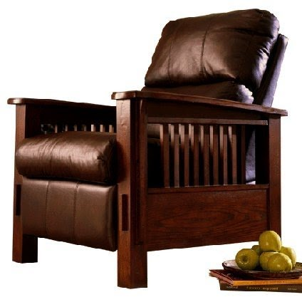 Delicieux Mission Style Recliner