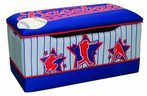Newco Kids Toy Box, Baseball All Star