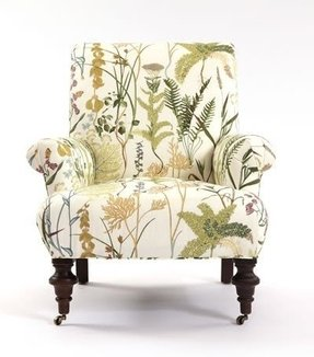 Patterned armchairs 3