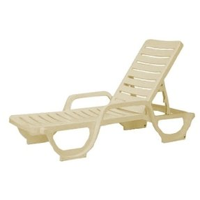 Plastic chaise lounges 2