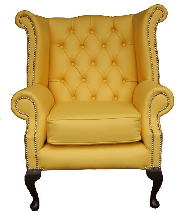 Gentil Queen Anne Style Recliner Chair