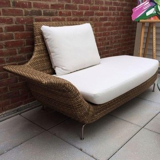 Rattan Chaise Lounge Indoor