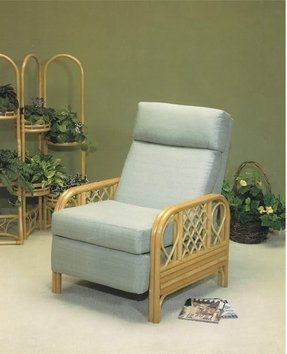 Rattan recliner for you sandie