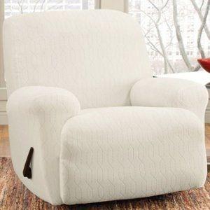 Recliner Slipcovers White