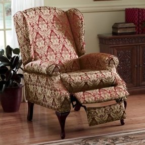 ideas recliner chair design wing gallery up stand high back wingback