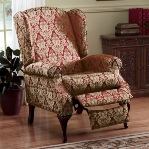 Wonderful Reclining Wing Chair