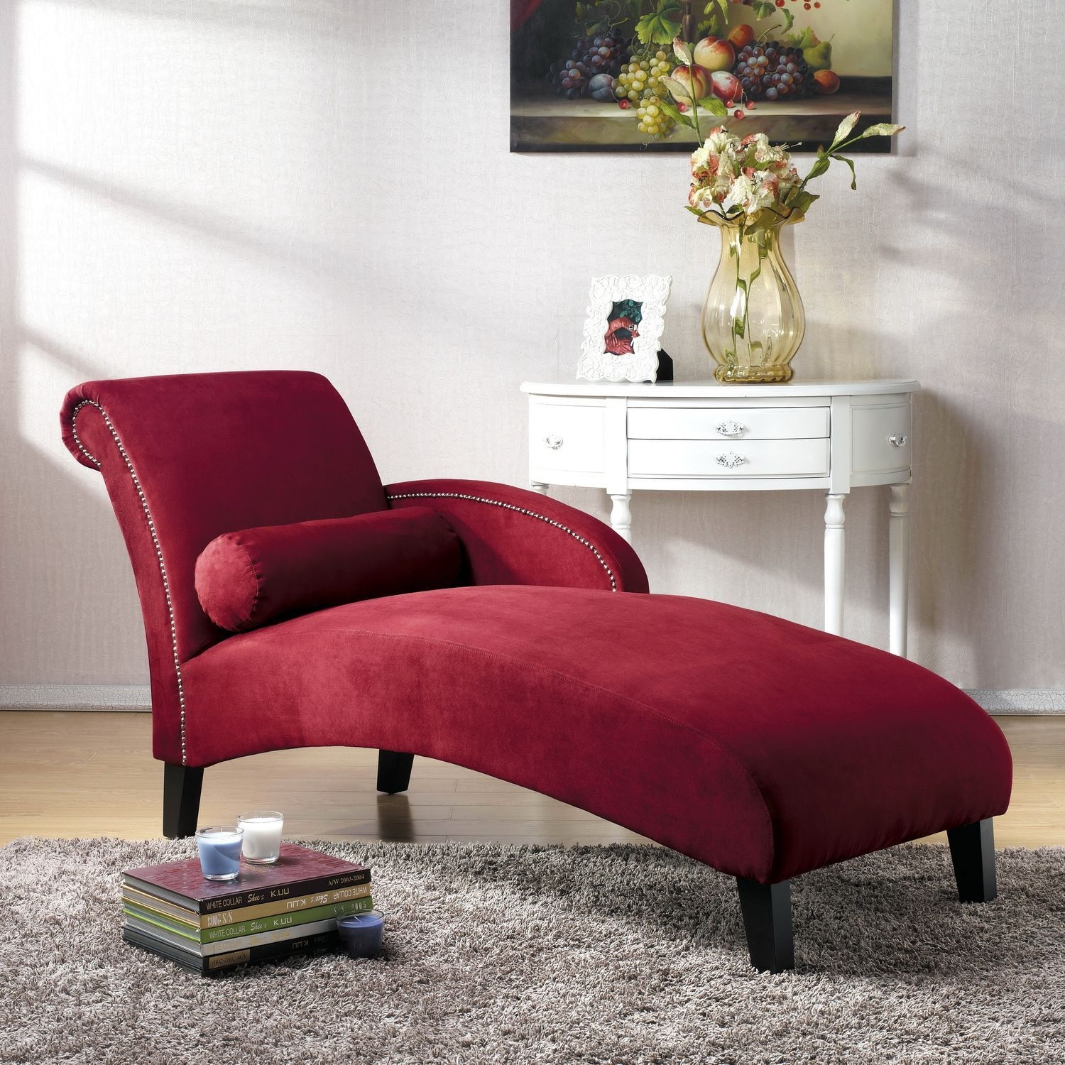 Red Chaise Lounges 17