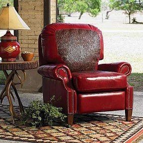 Red recliner 6