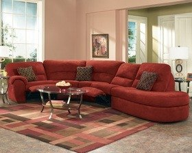 Ordinaire Sectionals With Recliners 1