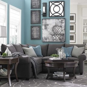 Silver Living Room Decorating Ideas from foter.com