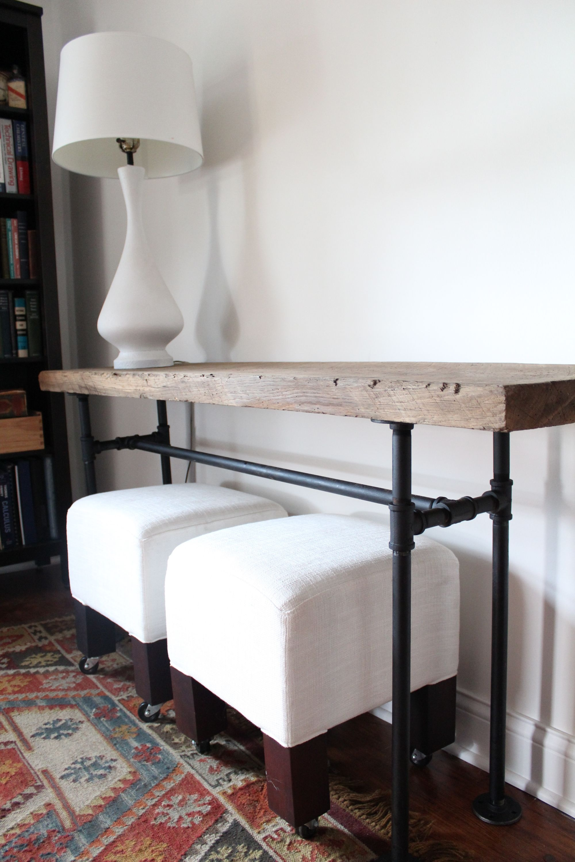 Small Entryway Console Table