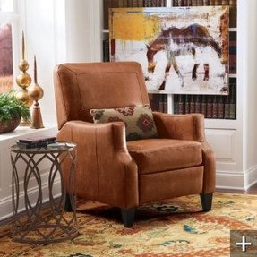 Small leather recliners 3