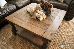 Solid pine living room furniture